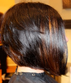 Photos of real hair behind my chair with a brief description of my level 3 dark brown with beautiful peek a boo bronze colored highlights pmusecretfo Image collections